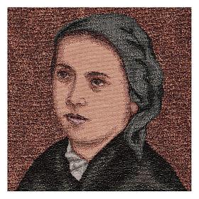 Arazzo Bernadette di Soubirous 50x40 cm s2