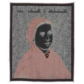 Arazzo Bernadette di Soubirous 50x40 cm s3