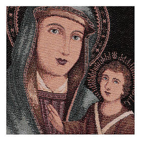Our Lady of Graces tapestry 40x30 cm s2