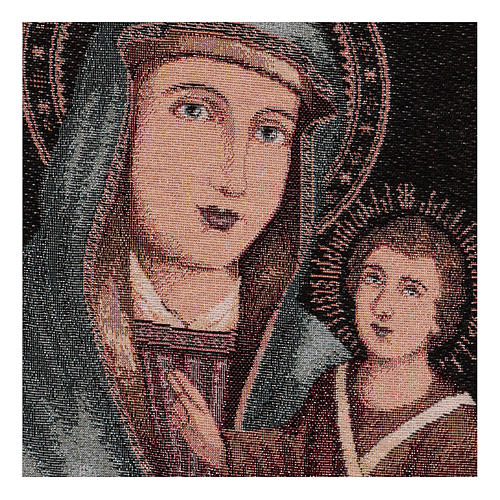 Our Lady of Graces tapestry 40x30 cm 2