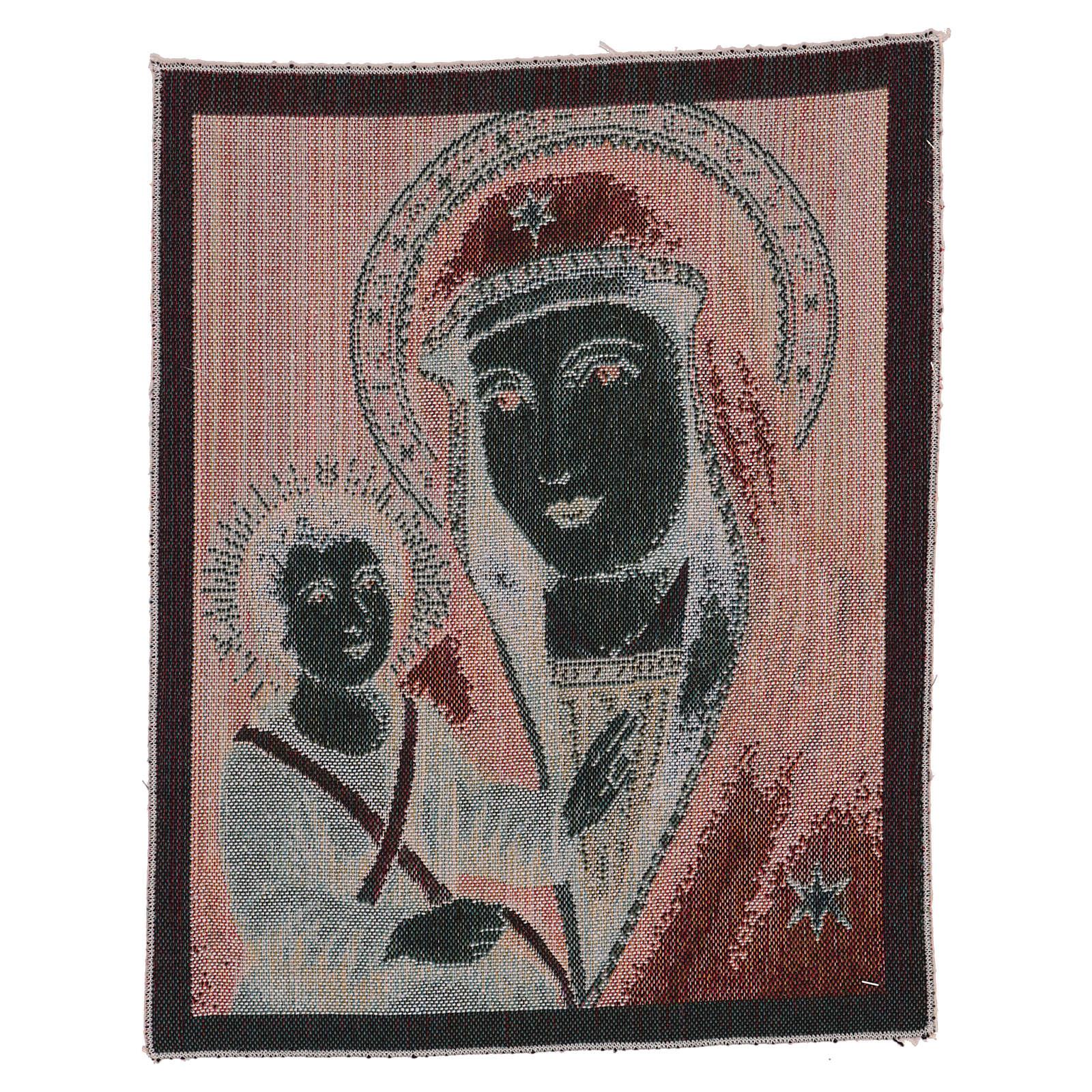 Tapiz Santa Virgen de las Gracias 40x30 cm 3