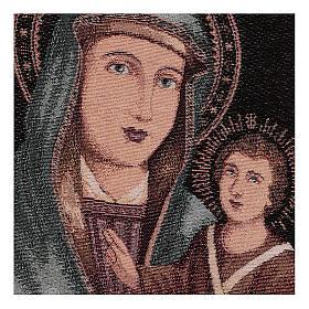 Arazzo Beata Vergine delle Grazie 40x30 cm s2