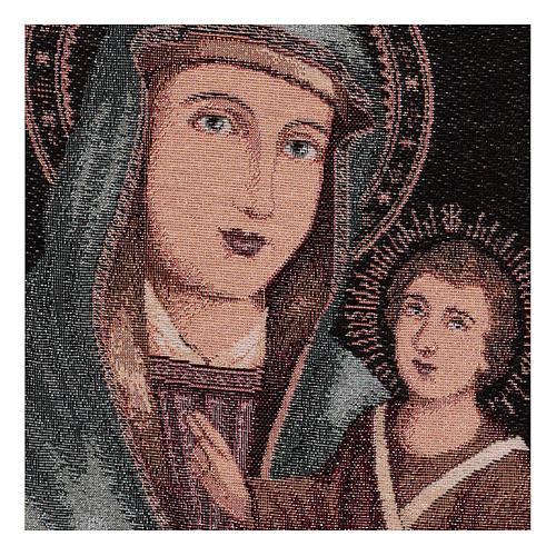 Arazzo Beata Vergine delle Grazie 40x30 cm 2