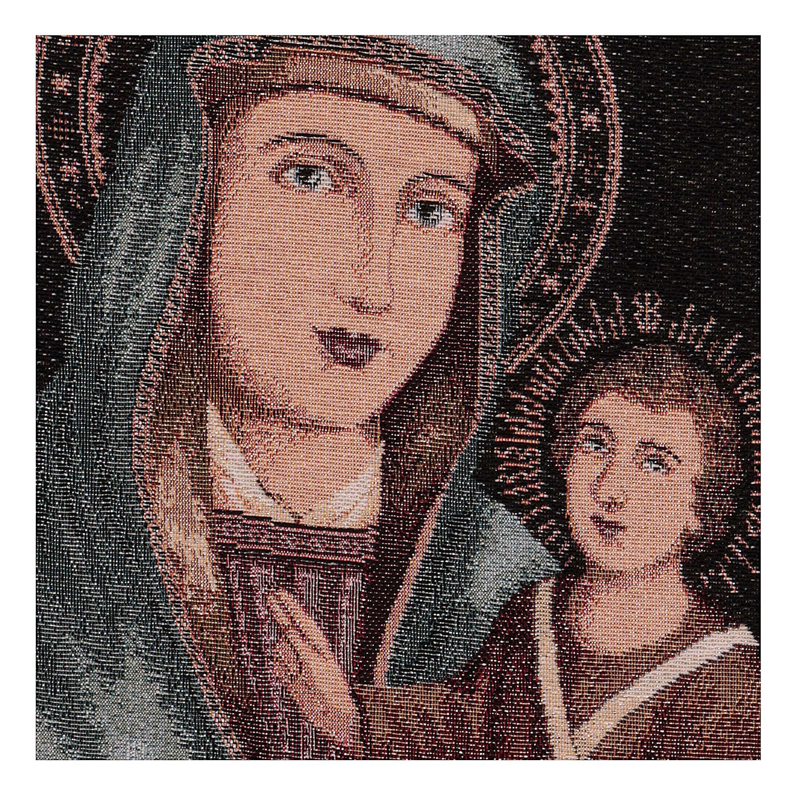 Gobelin Matka Boża Łaskawa 45x30 cm 3