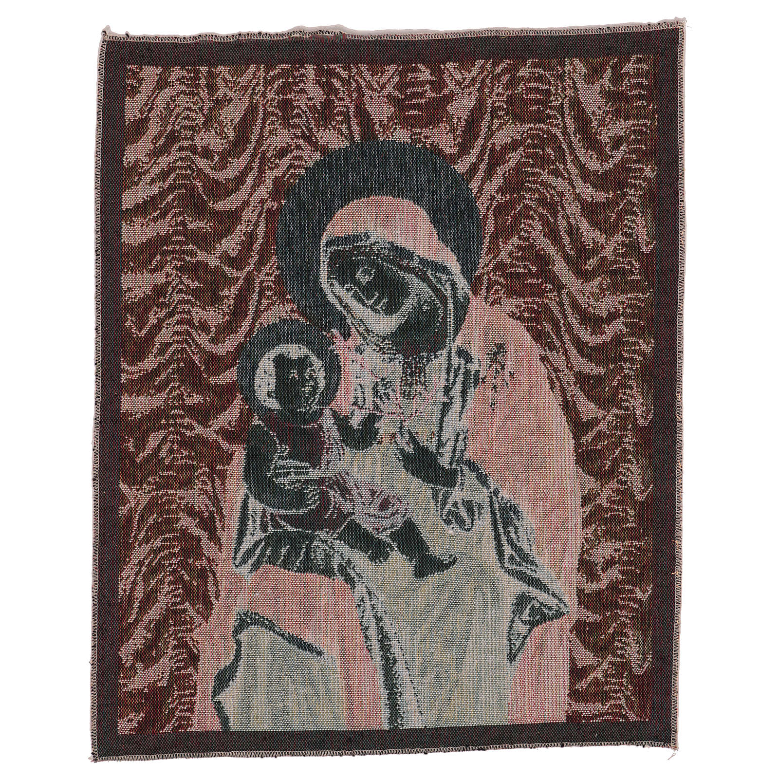 Our Lady of Peace tapestry 50x40 cm 3
