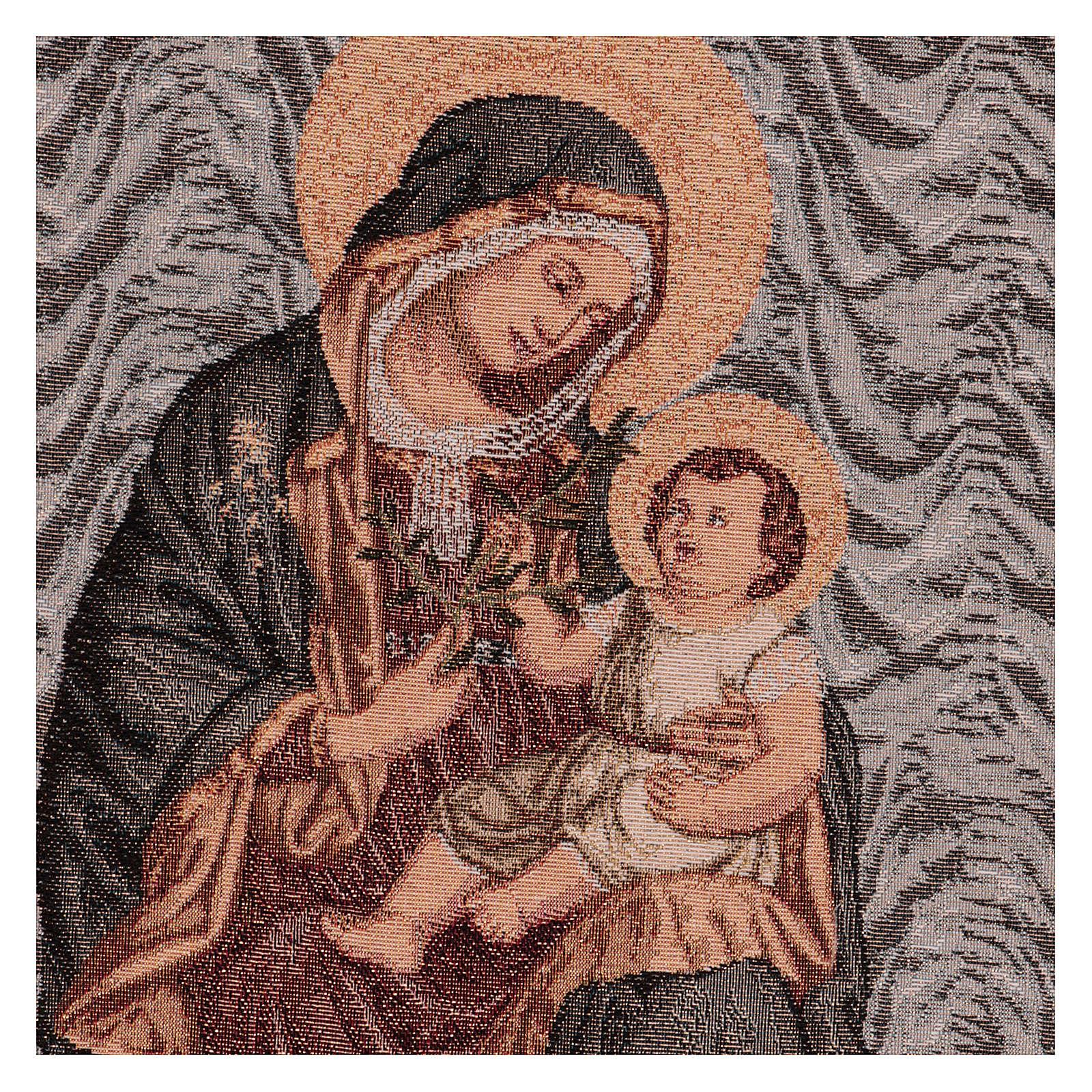 Tapiz Virgen de la Paz 50x40 cm 3