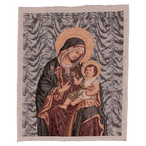 Tapiz Virgen de la Paz 50x40 cm 1