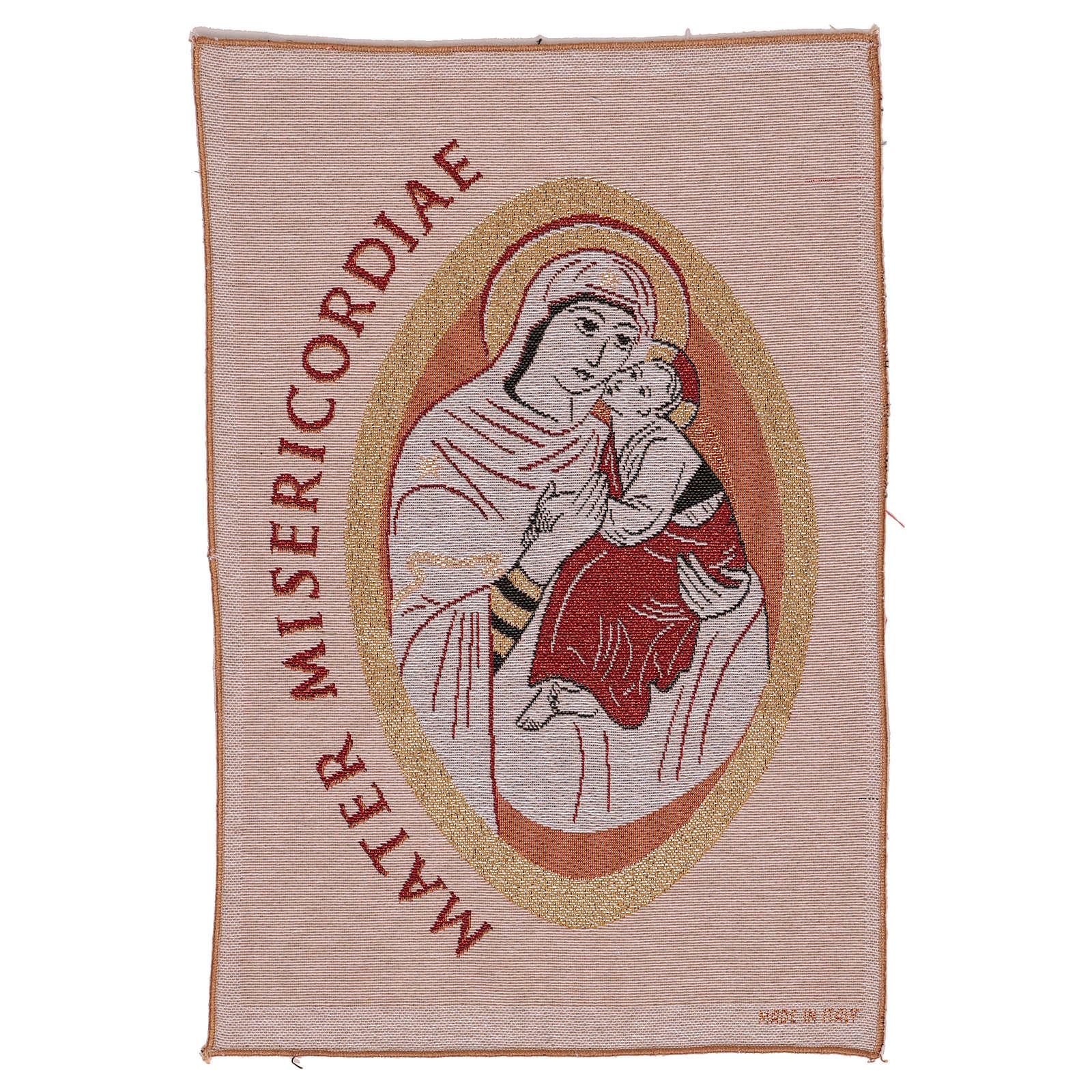 Arazzo Mater Misericordiae 45x30 cm 3