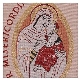 Arazzo Mater Misericordiae 45x30 cm s2