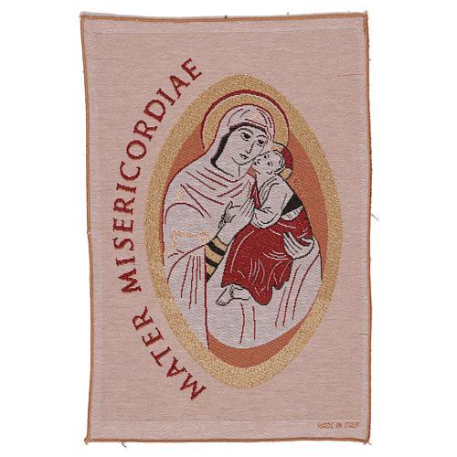 Arazzo Mater Misericordiae 45x30 cm 1