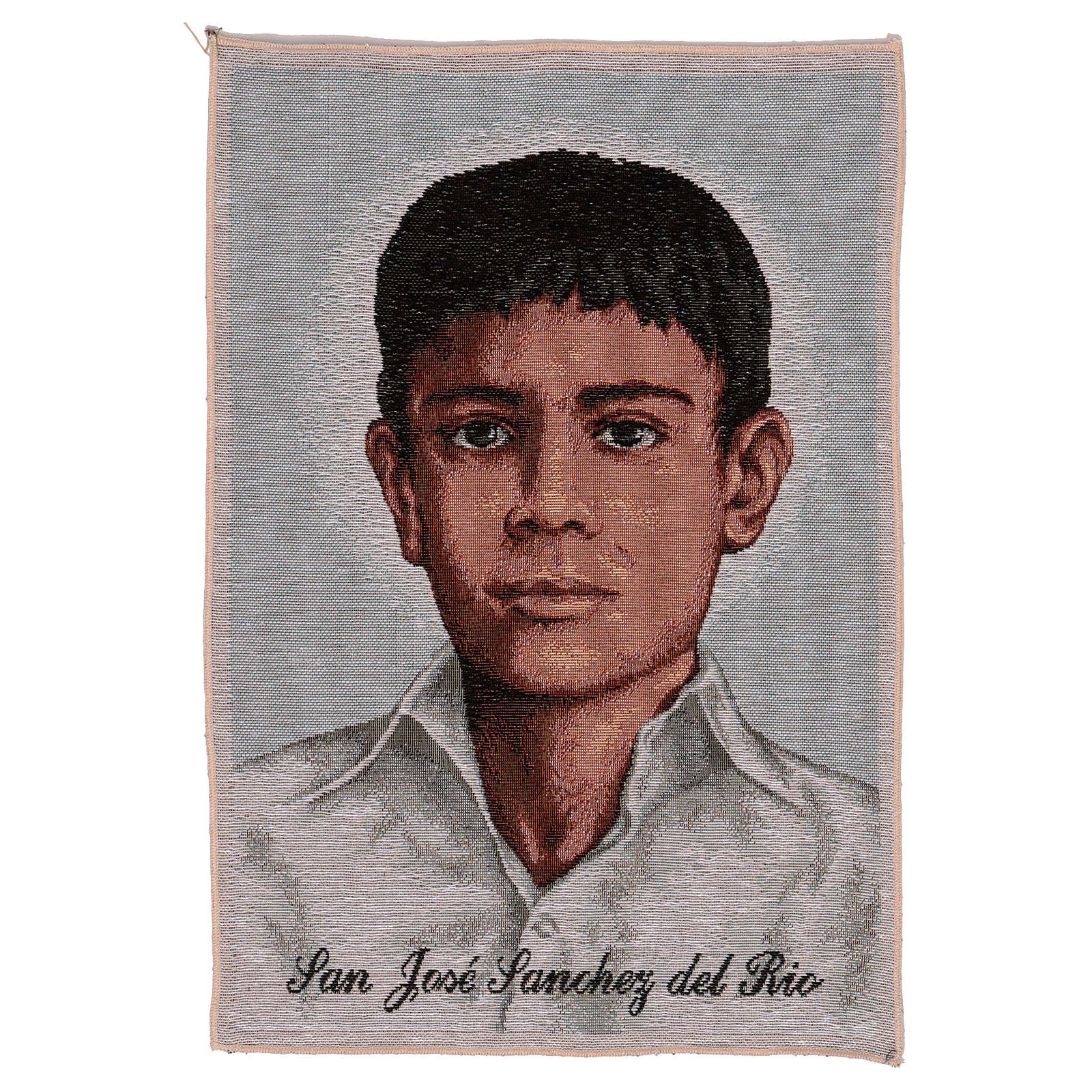 Gobelin Św. Józef Sanchez del Rio 45x30 cm 3