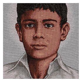 Gobelin Św. Józef Sanchez del Rio 45x30 cm s2