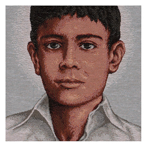Gobelin Św. Józef Sanchez del Rio 45x30 cm 2