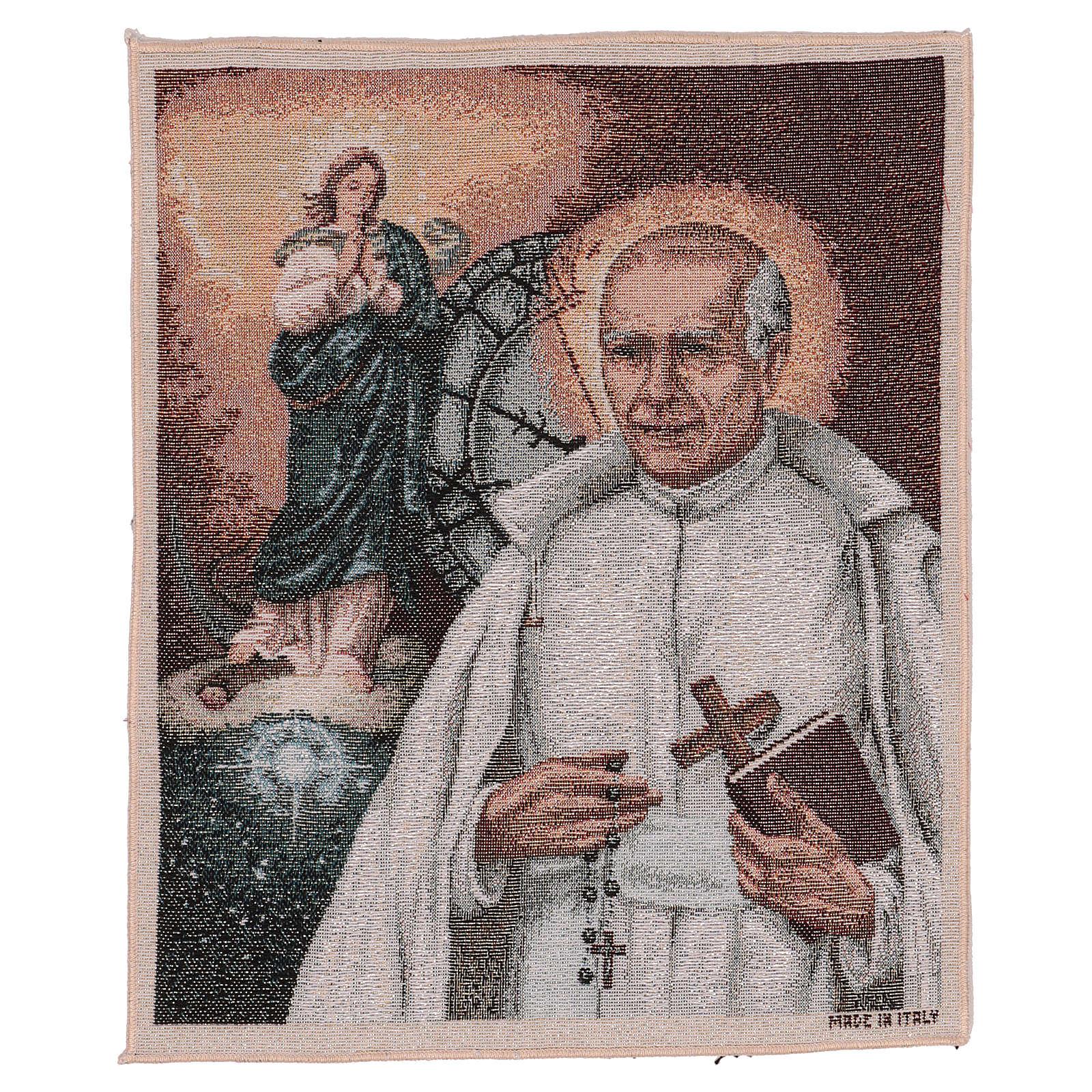 Arazzo San Stanislao di Gesù e Maria 40x30 cm 3