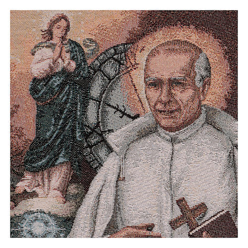 Arazzo San Stanislao di Gesù e Maria 40x30 cm 2