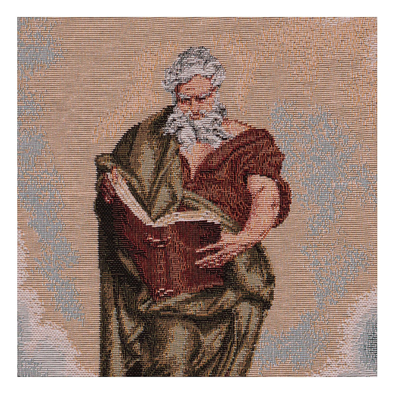 Wandteppich Apostel Matthäus 40x30cm 3
