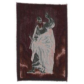 Wandteppich Apostel Thomas 40x30cm s3