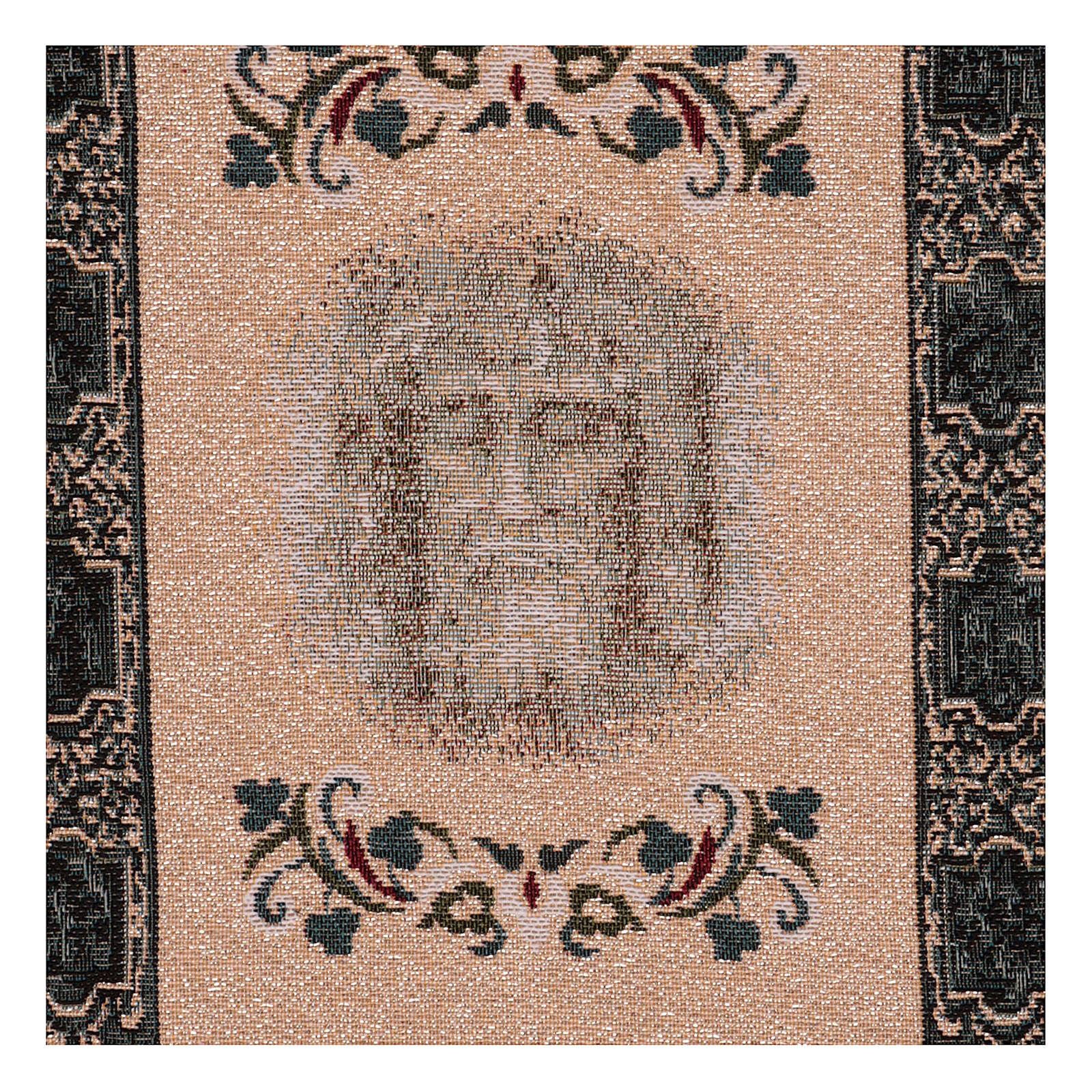 Tapisserie Sainte Face Suaire avec mangeoire 40x30 cm 3
