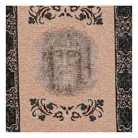 Tapisserie Sainte Face Suaire avec mangeoire 40x30 cm s2