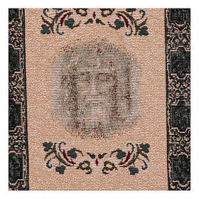 Gobelin Oblicze Całun turyński 35x30 cm s2