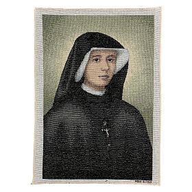 Tapiz Santa Faustina 40x30 cm s1
