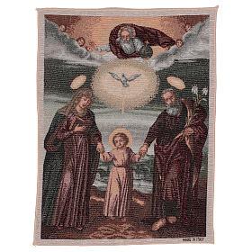 Tapiz Sagrada Familia Polaca 50x40 cm s1