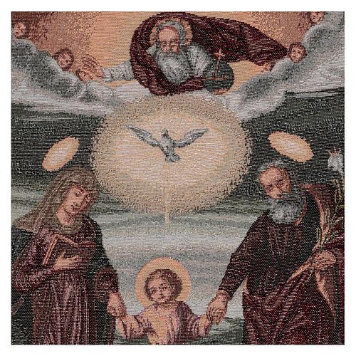 Tapiz Sagrada Familia Polaca 50x40 cm 2