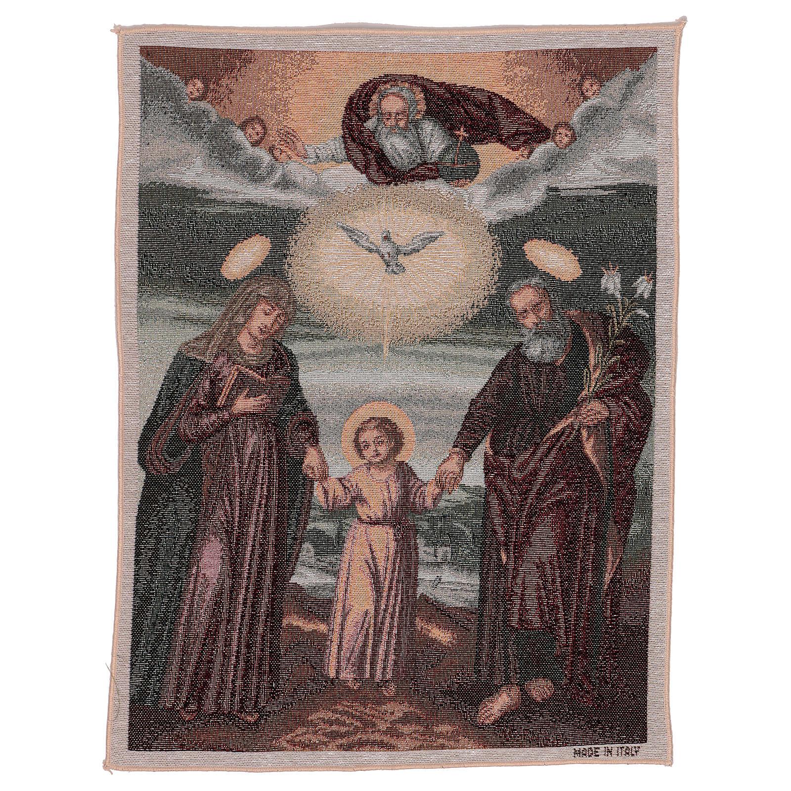 Arazzo Santa Famiglia Polacca 50x40 cm 3