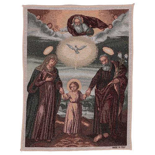 Arazzo Santa Famiglia Polacca 50x40 cm 1