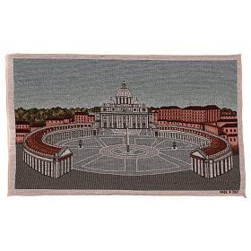 Arazzo Piazza San Pietro 35x60 cm s1