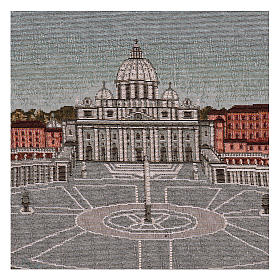 Arazzo Piazza San Pietro 35x60 cm s2