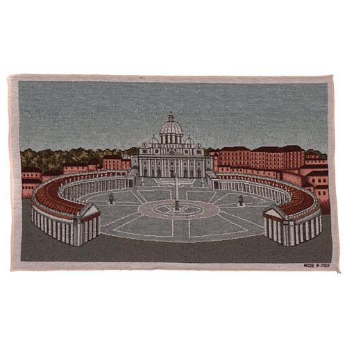 Arazzo Piazza San Pietro 35x60 cm 1