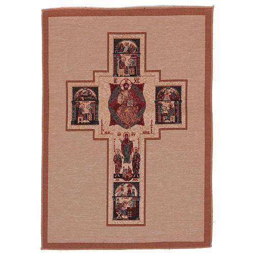 Arazzo Croce Terzo Millennio 55x40 cm 1