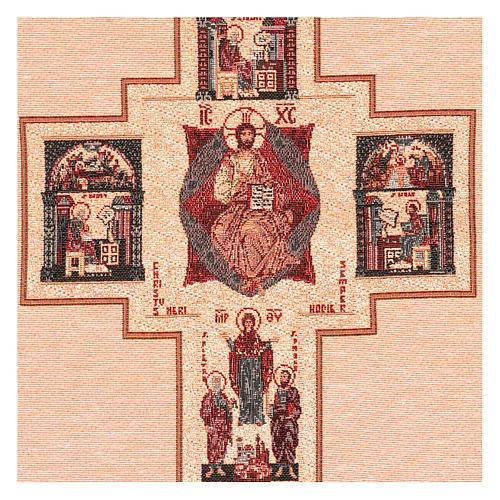 Arazzo Croce Terzo Millennio 55x40 cm 2