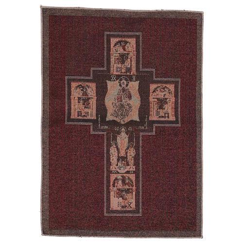Arazzo Croce Terzo Millennio 55x40 cm 3