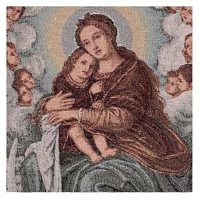 Arazzo Madonna con Bambino di Salvi 55x40 cm s2