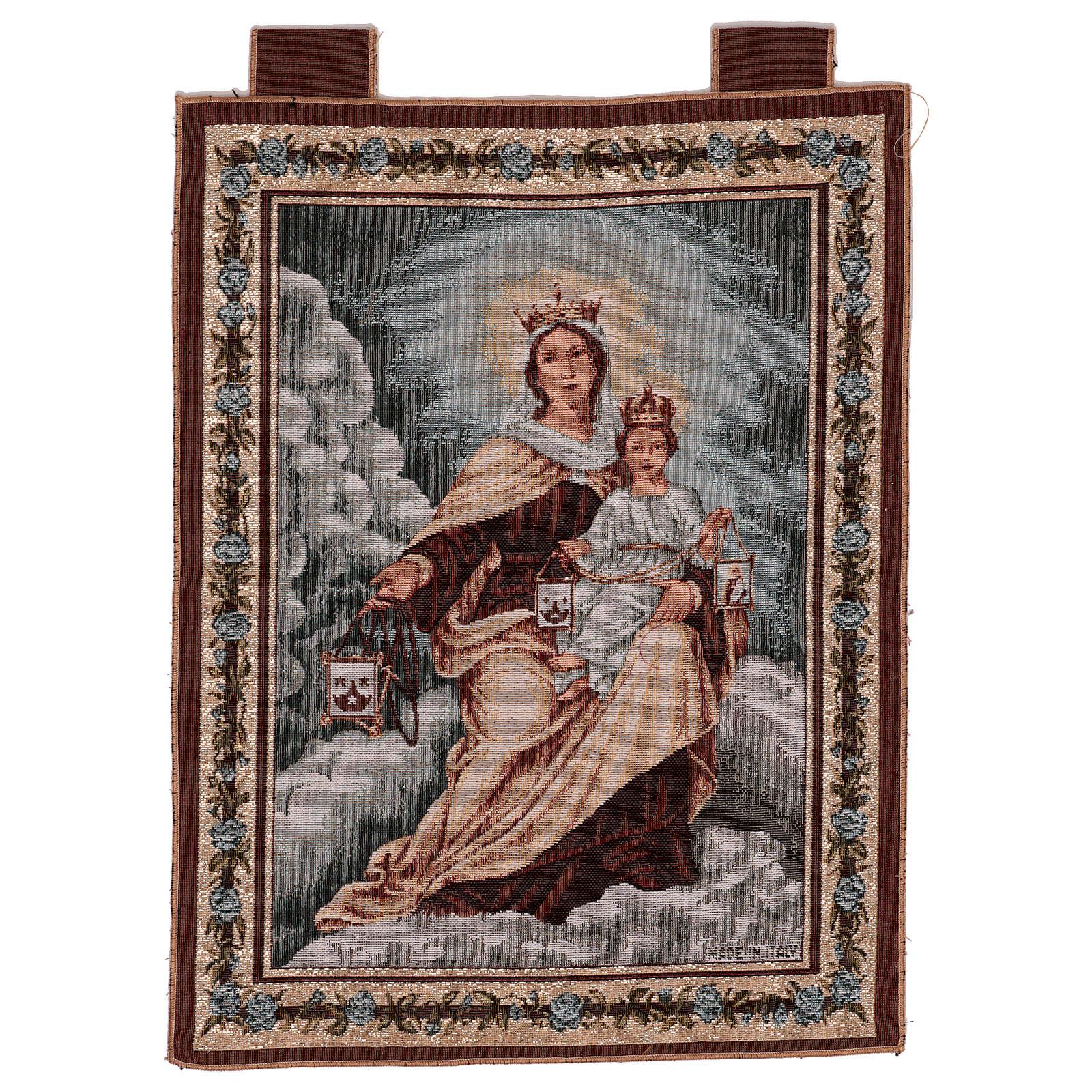 Tapiz Virgen del Monte Carmelo 50x40 cm 3