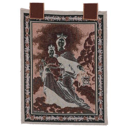 Arazzo Madonna del Monte Carmelo 50x40 cm 3