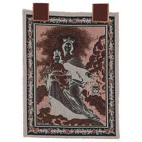 Gobelin Madonna z Góry Karmel 50x40 cm s3