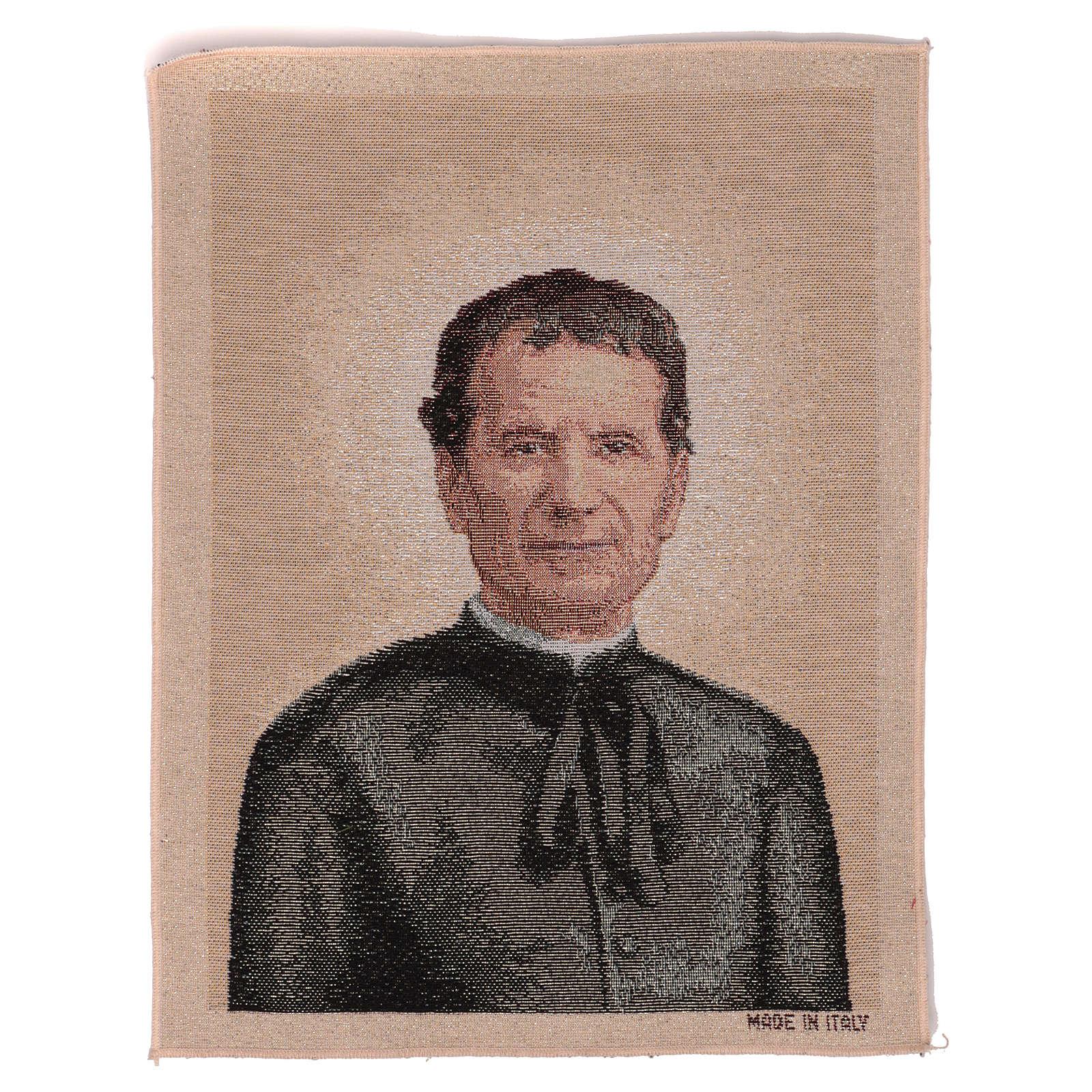 Gobelin Święty Jan Bosco 40x30 cm 3