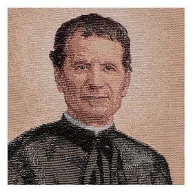 Gobelin Święty Jan Bosco 40x30 cm s2