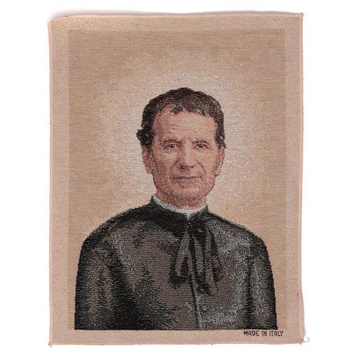 Gobelin Święty Jan Bosco 40x30 cm 1