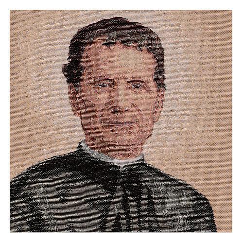 Gobelin Święty Jan Bosco 40x30 cm 2