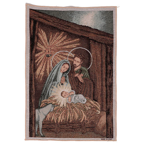 Tapisserie Nativité 50x40 cm 1
