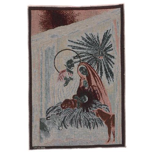 Tapisserie Nativité 50x40 cm 3