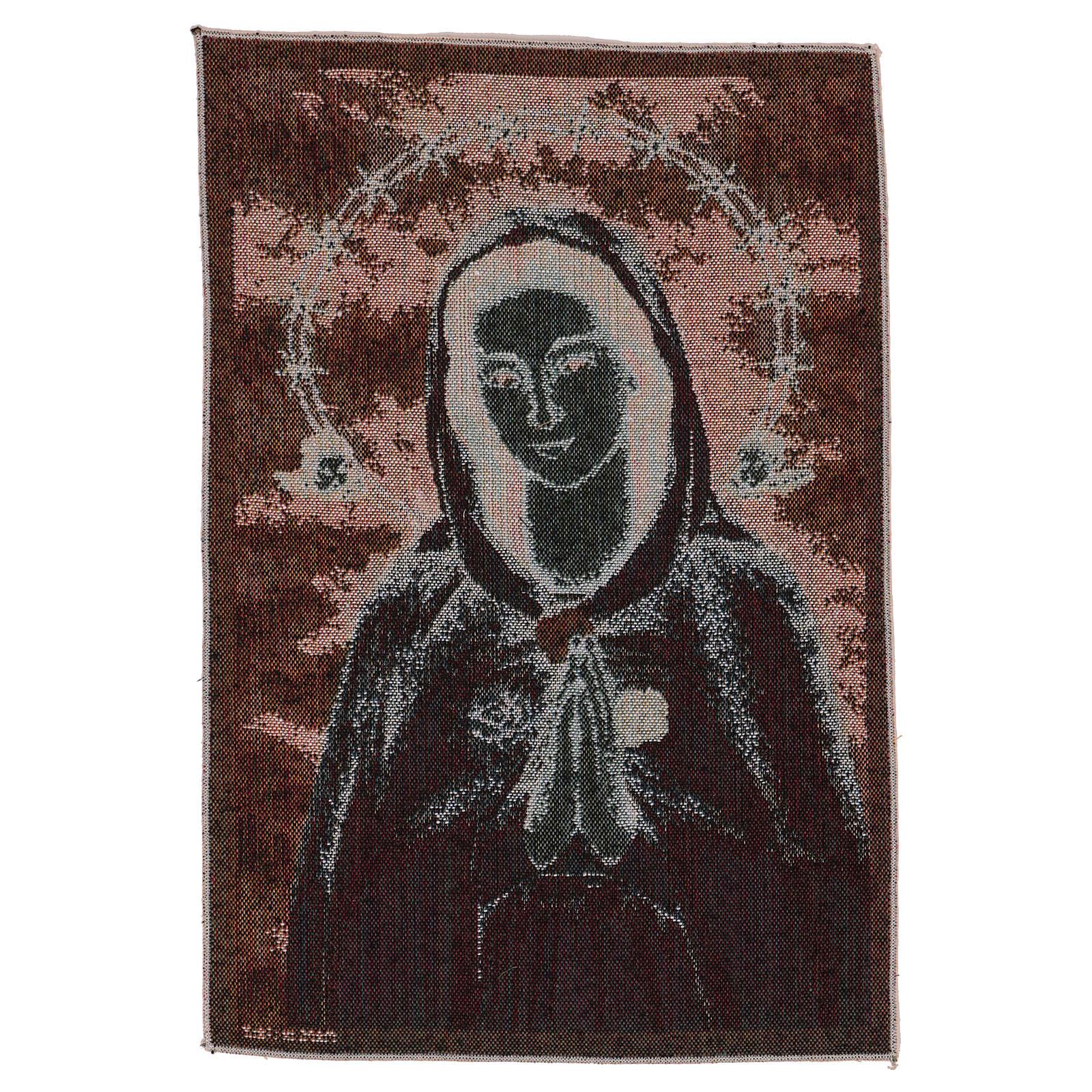 Tapiz Rosa Mística 40x30 cm 3
