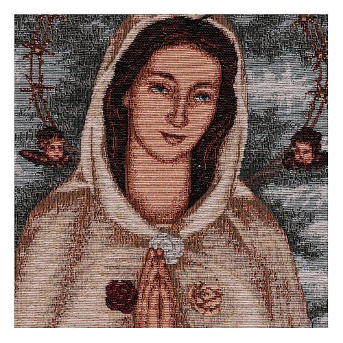 Arazzo Rosa Mistica 40x30 cm 2