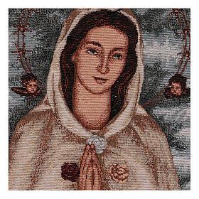 Tapeçaria Rosa Mística 40x30 cm s2