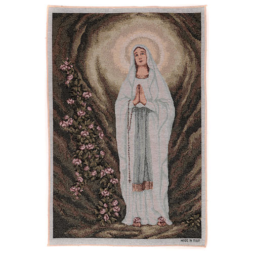 Our Lady of Lourdes in the cave 50x40 cm 1