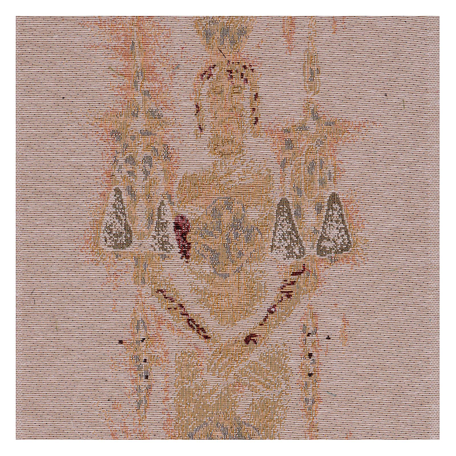 Arazzo Sacra Sindone 50x30 cm 3